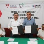 NAYARIT_FIRMA DE CONVENIO DONACION D EPLANTA CONAFOR-JALA_1