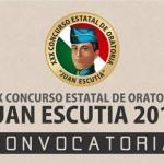 Comunicado Convocatoria Concurso Estatal Oratoria Juan Escutia 10 Enero 2019